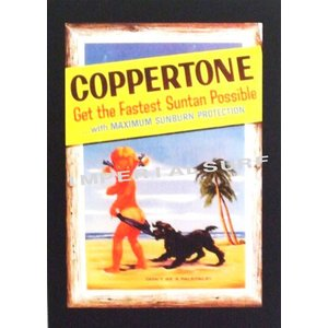 人気のハワイアンポスター 『コパトーン』のヴィンテージ・ポスターhawaiianposter imperialsurf
