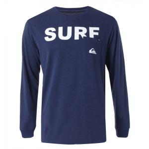 QUIKSILVER クイックシルバーポケット付長袖Tシャツ QLT184046 NVY/L メンズ人気ブランド|imperialsurf