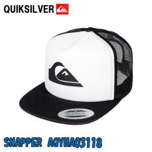 QUIKSILVER クイツクシルバーメンズ SNAPPER AQYHA03118 WBBO メッシュベースボールキャップ野球帽子|imperialsurf
