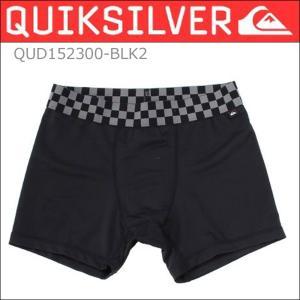 QUIKSILVERクイックシルバーインナーショーツボクサーパンツ ACTIVE INNERアンダーウェア QUD152300 BLK/L|imperialsurf