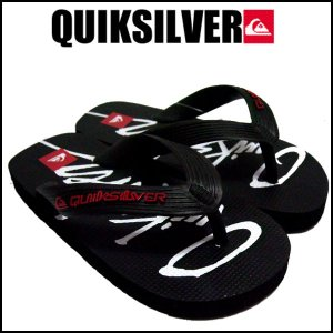 QUIKSILVER .クイックシルバー 子供用靴 ビーチサンダル FKSD862 BLK 16cm|imperialsurf