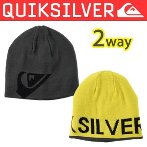 QUIKSILVER クイックシルバーメンズ ニット帽子ビーニーBENTO AQYHA03047 qsnew サーフイン人気ブランド|imperialsurf