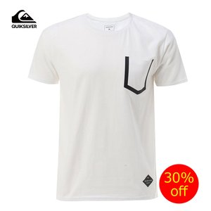 『QUIKSILVER』 おしゃれなTシャツ   QUIKSILVER(クイックシルバー)半袖Tシャ...