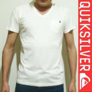 QUIKSILVER クイックシルバー半袖TシャツメンズQST161023  Vネック 人気ブランド|imperialsurf