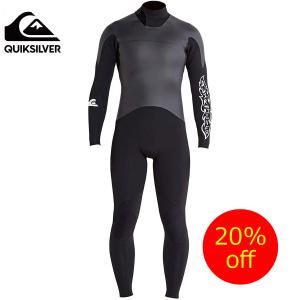 QUIKSILVER (クイックシルバー)メンズウェットスーツ ショートジョン QSA174750 BLK M/L|imperialsurf