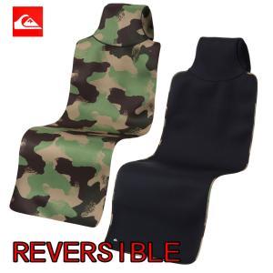 QUIKSILVER(クイックシルバー)2.0 REVERSIBLE CAR SEAT COVER QSA174755 カーシートカバー防水クロスネオプレーン 1人用|imperialsurf