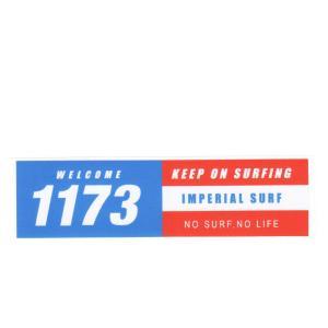 サーフィン人気ステッカーいい波1173 シール flar05|imperialsurf
