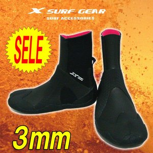サーフィン ブーツ 3mm XSURF エックスサーフ 27/28cm  防寒人気売れ筋|imperialsurf