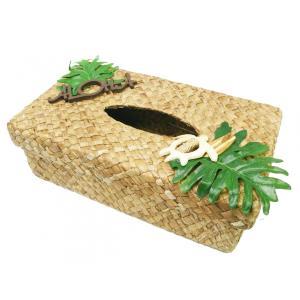 ティッシュボックスケース PUKANAプカナPUBS 1606Aおしゃれな南国風 人気ブランド|imperialsurf