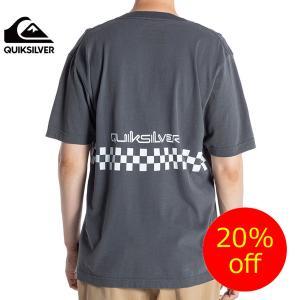 QUIKSILVER クイックシルバー半袖TシャツメンズQST162009  Vネックボーダー 人気ブランド|imperialsurf