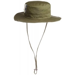 2WAY ROXY ロキシー レディース帽子RHT162301 OLVテンガロンサファリアウトドアコットンハットサーフィン人気ブランドカーキー|imperialsurf