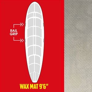 SurfCo(サーフコ) デッキパッド WAX MAT WM-9'6