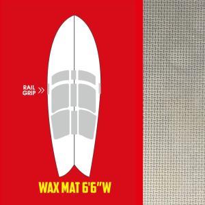 SurfCo(サーフコ) デッキパッド WAX MAT-WM 6'6