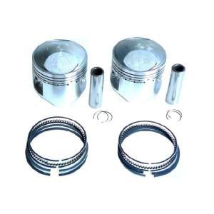 【送料無料】KIWAMI ピストンキット(1.00mmオーバーサイズ) FOR スズキ S-GS750 (77-79)用|impex-mall