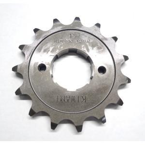 KIWAMI フロントドライブスプロケット 15丁 FOR ホンダ H-CB72, CB77, CL72, CL77用|impex-mall