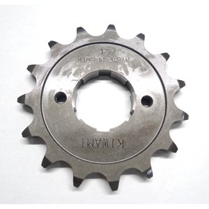 KIWAMI フロントドライブスプロケット 15丁 FOR ホンダ H-CB72, CB77, CL72, CL77用 impex-mall