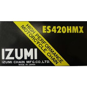 IZUMIチェーン HIGH PERFORMANCE ES420HMX ~110リンク ゴールド|impex-mall