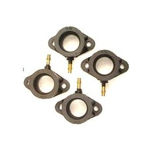 KIWAMI インシュレーターセット, ジョイントキャブレターセット FOR カワサキ K-KZ550A1-A3/C1-C4/D1用|impex-mall