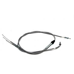 KIWAMI スロットルケーブル(グレー)FOR カワサキ K-500SS H1/H1A/H1B/H1C/H1D/H1E/H1F(69-75), KH500(76)用(FOR K-54012-054に該当)|impex-mall