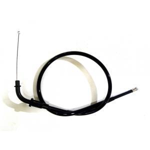 KIWAMI スロットルケーブル(ブラック) FOR ヤマハ Y-FZR250(2KR/2RF)用