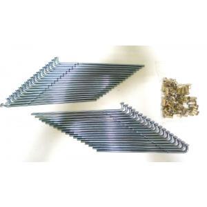 KIWAMI リアスポークセット: ニップル付き (36 PCS./SET) FOR スズキ S-GS750 C/N, GT750 A/B/J/K/L/M, RE5|impex-mall