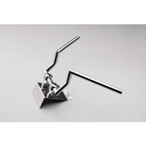 [ハリケーン/HURRICANE] ハンドルバー φ1インチ:170ロボットプルバック(クロームメッキ) impex-mall