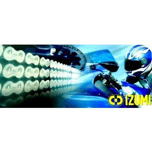IZUMI シルバーチェーン O-RING ES520SDC-102リンク FOR ホンダ H-GB250 CLUBMAN(83-00)用|impex-mall