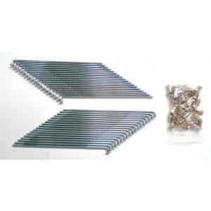 KIWAMI リアスポークセット (36本): ニップル付き FOR ホンダ H-CL72 後期型, CL77 後期型用|impex-mall