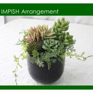 造花 観葉植物 多肉植物 インテリア P-63|impish