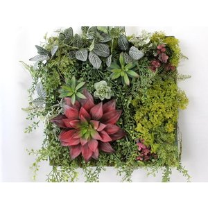 造花 リース アートフラワー  壁掛け インテリア グリーン  W-404|impish