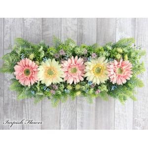 リース 花 玄関 インテリア  壁掛け 造花  W-640 impish