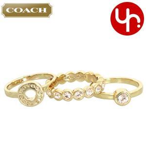 08400828fccf コーチ COACH アクセサリー 指輪 F56418 ゴールド オープン サークル リング セット (ボックス付き) アウトレット レディース