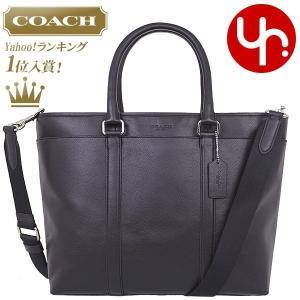 コーチ COACH バッグ トートバッグ F54758 ブラック スムース レザー ビジネス トート メンズ レディース タイムセール|import-collection-yr