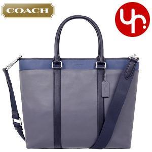 コーチ COACH バッグ トートバッグ F57568 グラファイト×ブラックデニム カラーブロック レザー ビジネス トート メンズ レディース|import-collection-yr