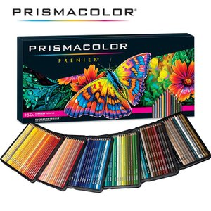 サンフォード プリズマカラー 色鉛筆 150色セット 大人の塗絵