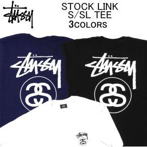 ステューシー 半袖Tシャツ STUSSY STOCK LINK S/SL TEE ショートスリーブテ...