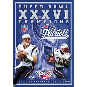 NFL 第36回スーパーボウルDVD/ペイトリオッツ2001-2002シーズン