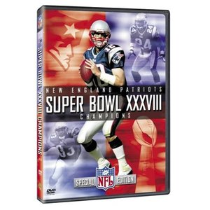 NFL 第38回スーパーボウルDVD/ペイトリオッツ2003-2004シーズン