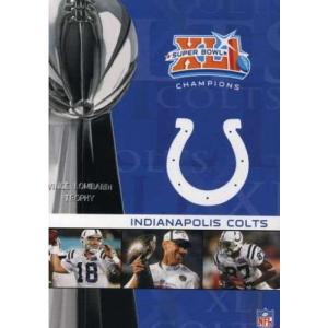 NFL 第41回スーパーボウルDVD/インディアナポリス・コルツ2006-2007シーズン
