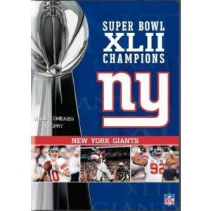 NFL 第42回スーパーボウルDVD/ニューヨーク・ジャイアンツ2007-2008シーズン