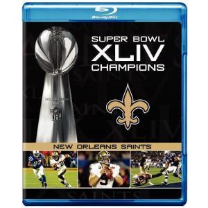 NFL 第44回スーパーボウル/ニューオーリンズ・セインツ2009-2010シーズン (ブルーレイ)