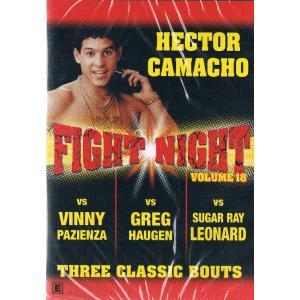 FightNight18 カマチョ対パジェンサ、ホーゲン、レナード DVD
