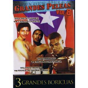 ボクシング名勝負選DVD8 ゴメス対サラテ、トリニダード対マヨルガ、ベニテス対デュラン