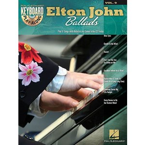 エルトン・ジョン・バラード CD付ピアノ弾き語り譜 輸入楽譜