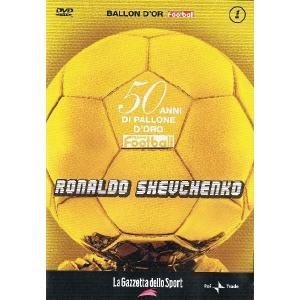 バロンドール受賞特集 ロナウドとシェフチェンコ  DVD import5