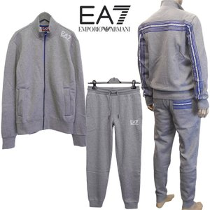 エンポリオアルマーニ EMPORIO ARMANI EA7 ジャージ セットアップ/上下セット 6XPV58-PJ08Z-1200 ブラック/黒|importbrand-jp