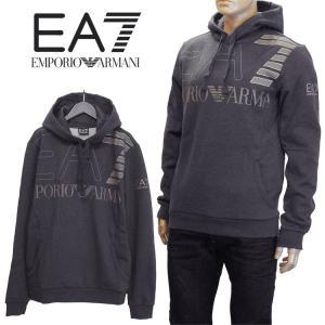 エンポリオアルマーニ EMPORIO ARMANI EA7 ジップスウェット バックプリント 6YPM74-PJ19Z-1200 ブラック|importbrand-jp