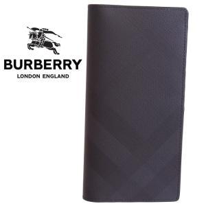 【バーバリー BURBERRY】 財布 ジップ付き 長財布 あらゆる紙幣サイズに対応するコンチネンタ...