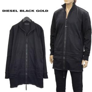 ◆ディーゼル ブラック ゴールド DIESEL BLACK GOLD◆ SABIK ジップスウェット...