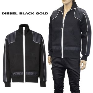 ◆ディーゼル ブラック ゴールド DIESEL BLACK GOLD◆ STAUB ジップスウェット...